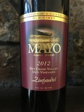 2012 Zinfandel, Unti Vineyard, Dry Creek Valley, Old Vines,