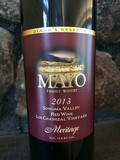 2013 Meritage, Los Chamizal Vineyard, Sonoma Valley,